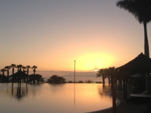 Sunset at sensatori Tenerife