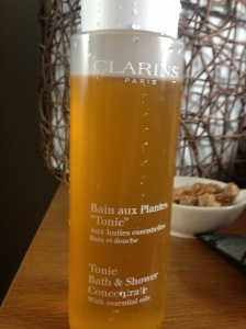 Clarins bliss in a bottle