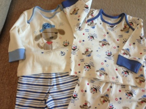 Pirate-themed outfits from a good friend's mum - from Matalan