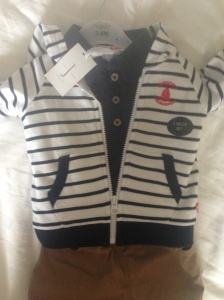 Gorgeous Jasper Conran (Debenhams) outfit from Daddy's colleagues