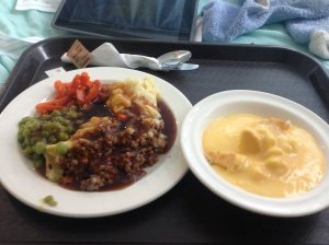 Hospital food!