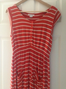 Summer maternity dress from Mammas and Papas via eBay