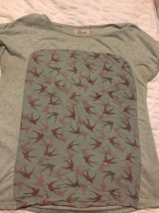 Maternity t-shirt from ebay (Next)