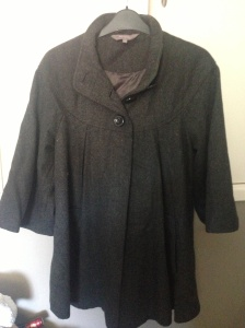 New Look maternity cape coat - lovely and great quality but would never suit me!