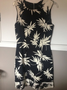 Palm print dress from Oasis