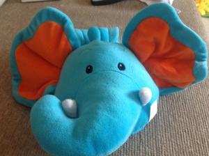 Elephant rucksack (£1)