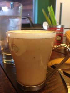 My first ever Chai latte at Chaiholics, Cardiff