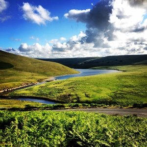 Homeward bound - a reservoir in the Elan Valley, mid Wales (instagrammed)