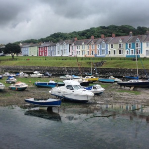 Aberaeron harbour (instagrammed)