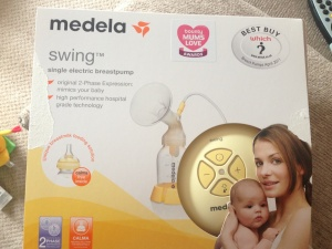 Medela Swing in its packaging