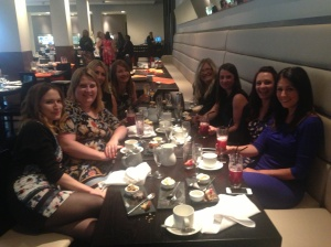 Ladies enjoying afternoon tea :)