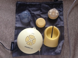 Medela swing bag and accessories