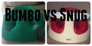 Review of the Bumbo vs the Snug