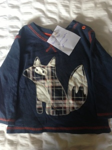 Fox top from George at Asda
