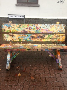bench in Rhiwbina