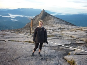 Near the top of mount Kinabalu, Borneo