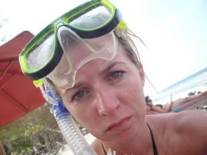 Snorkelling in the Gili islands, indonesia