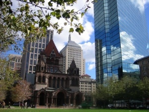 Old and new: Boston
