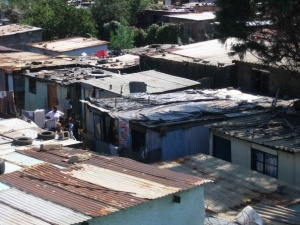 Shacks in Soweto, South Africa