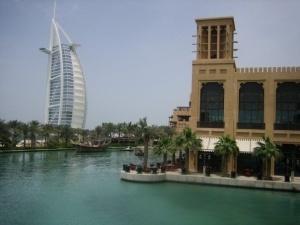 Burj al Arab from medinat jumerah, dubai