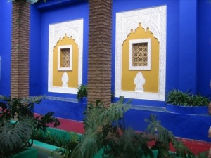 The YSL garden in Marrakesh, morocco ,