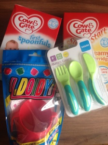 Some of our weaning kit