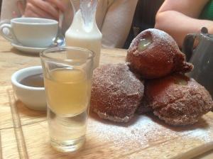 Doughnuts at Somerset House