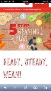 5 step weaning plan
