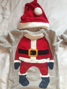 Santa outfit from Next