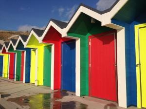 Barry island beach huts