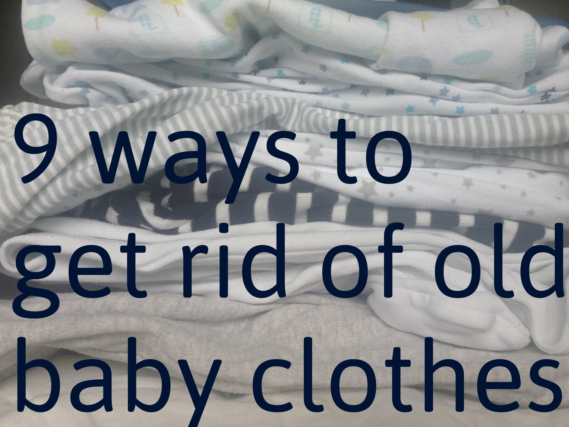 92b0b332daa5 9 things you can do with outgrown baby clothes – yummyblogger.com