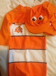 Nemo swimsuit from Tesco (£10)