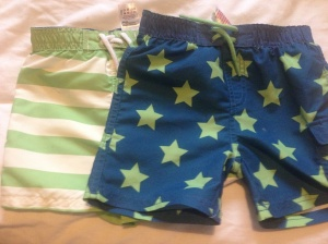 Tesco swimming shorts (£8 for 2-pack)