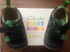 First shoes from Clarks