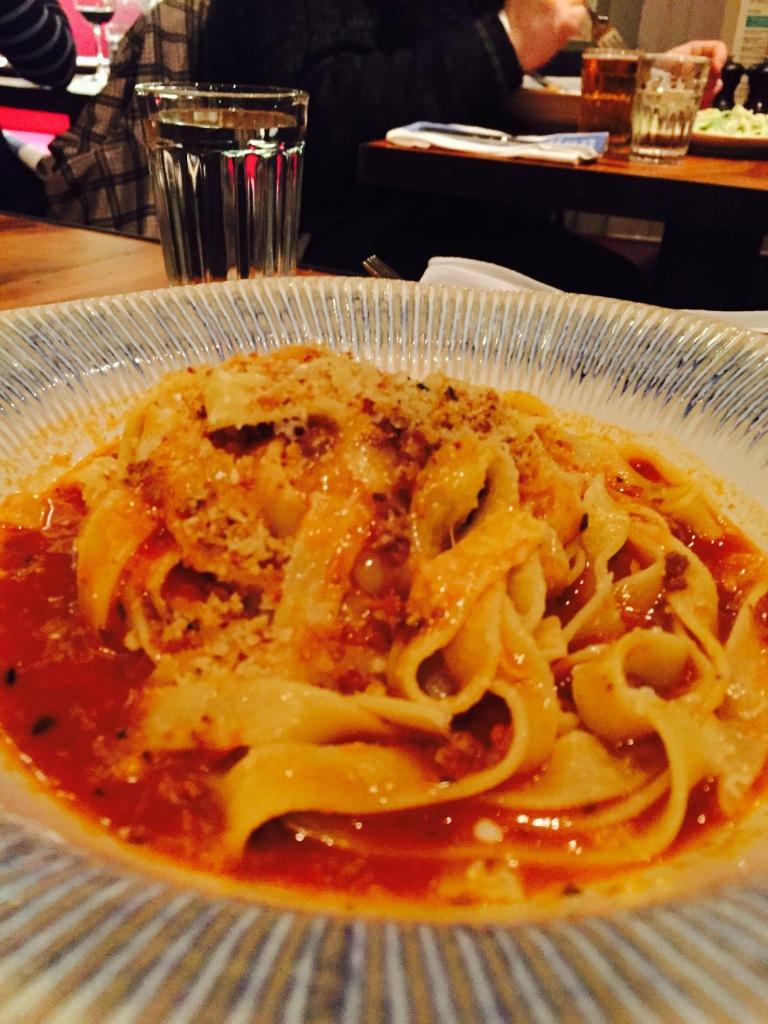tagliatalle bolognese at jamies italian