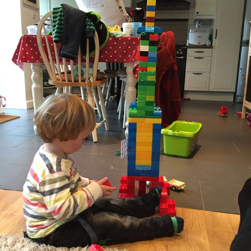 loving the lego tower