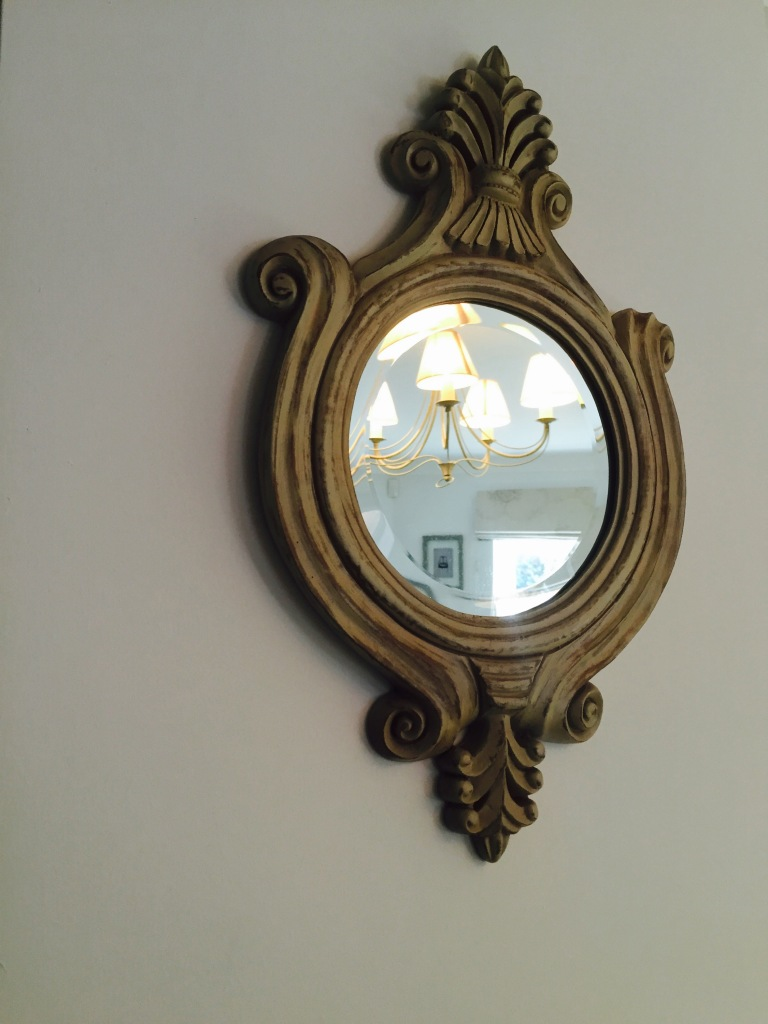 shabby french chic mirror