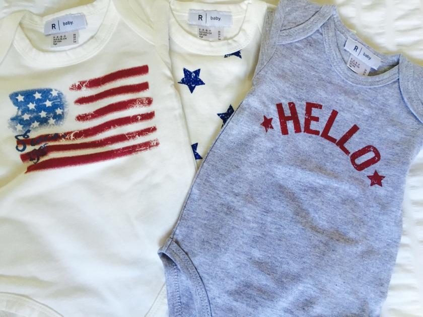 imageLa redoute newborn american -style bodysuits