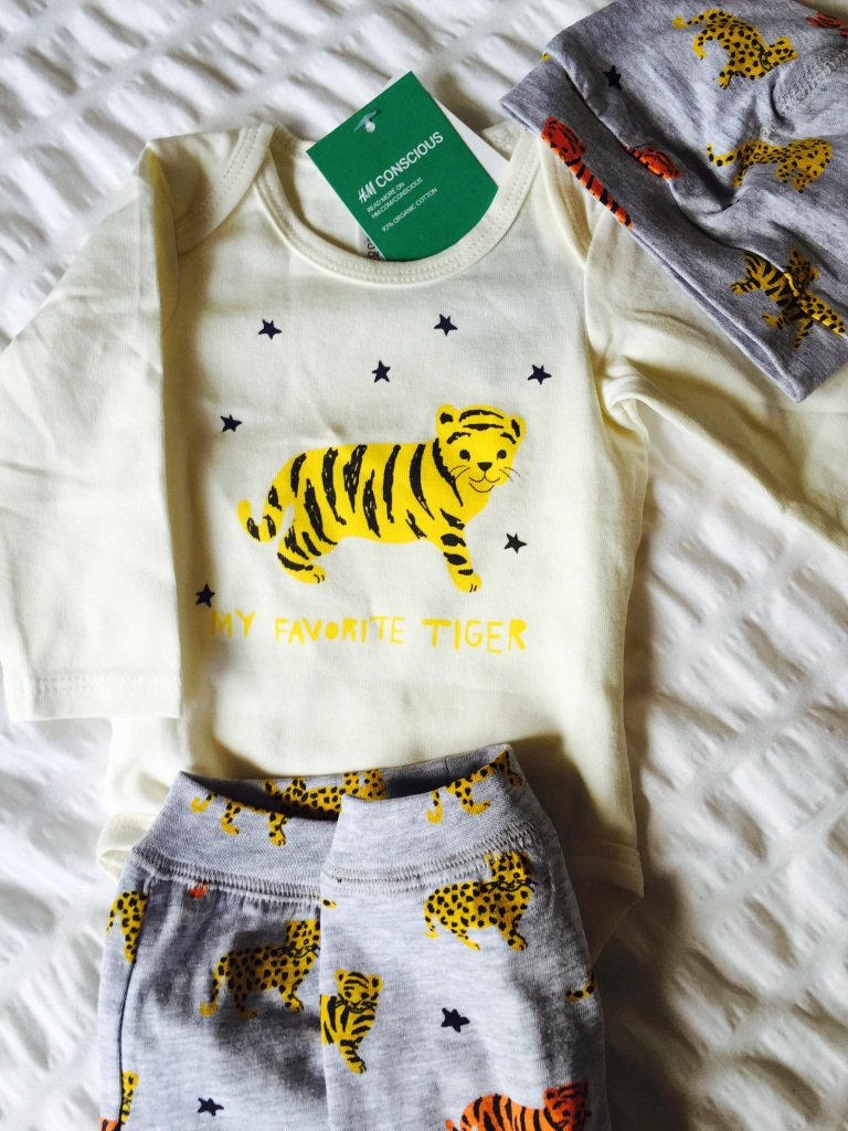 h and m tiger newborn outfit