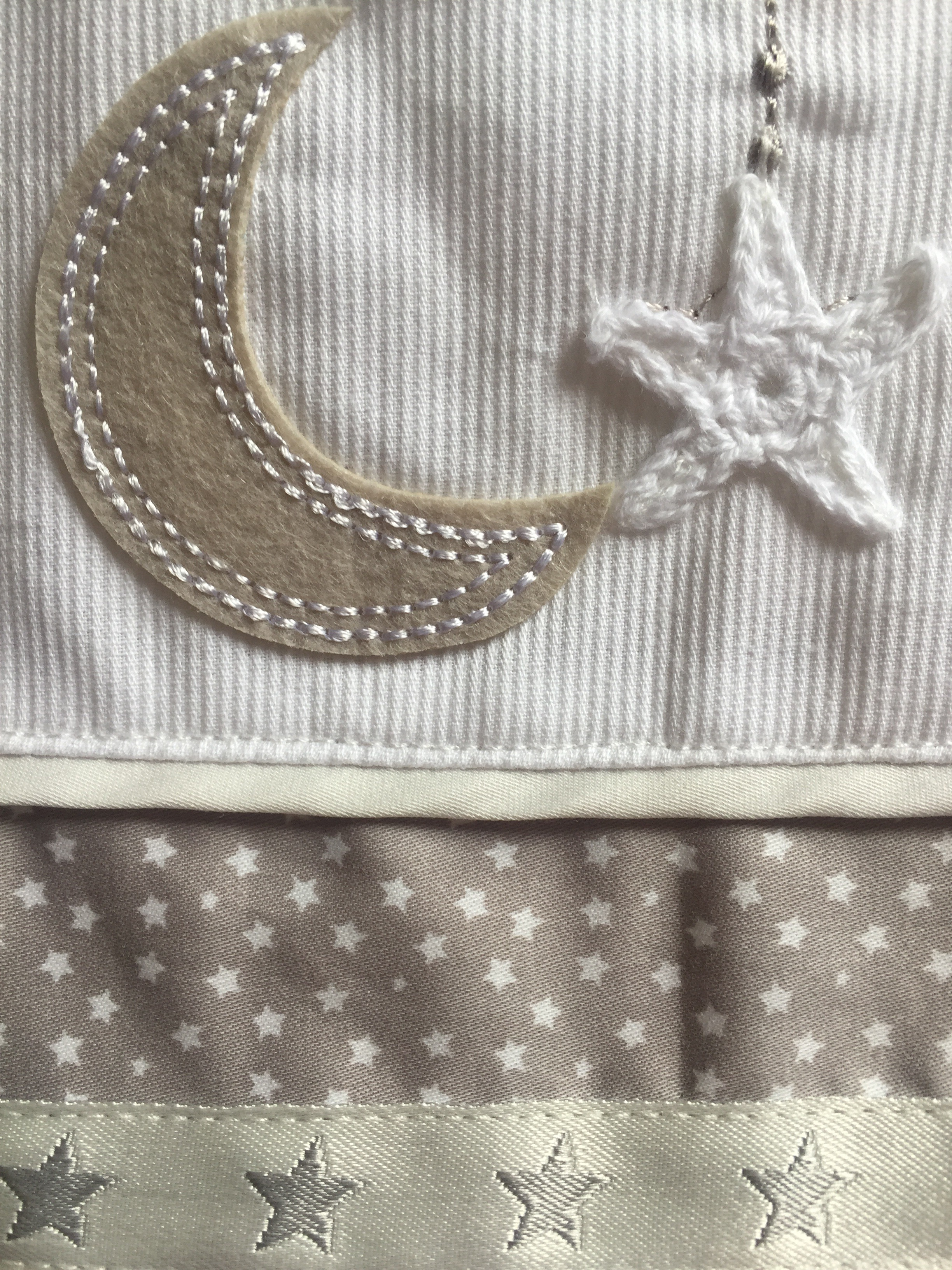 83becf9a Introducing the Silver Cross luxury sleepsuit (part of the 'To the moon and  back' nursery range)