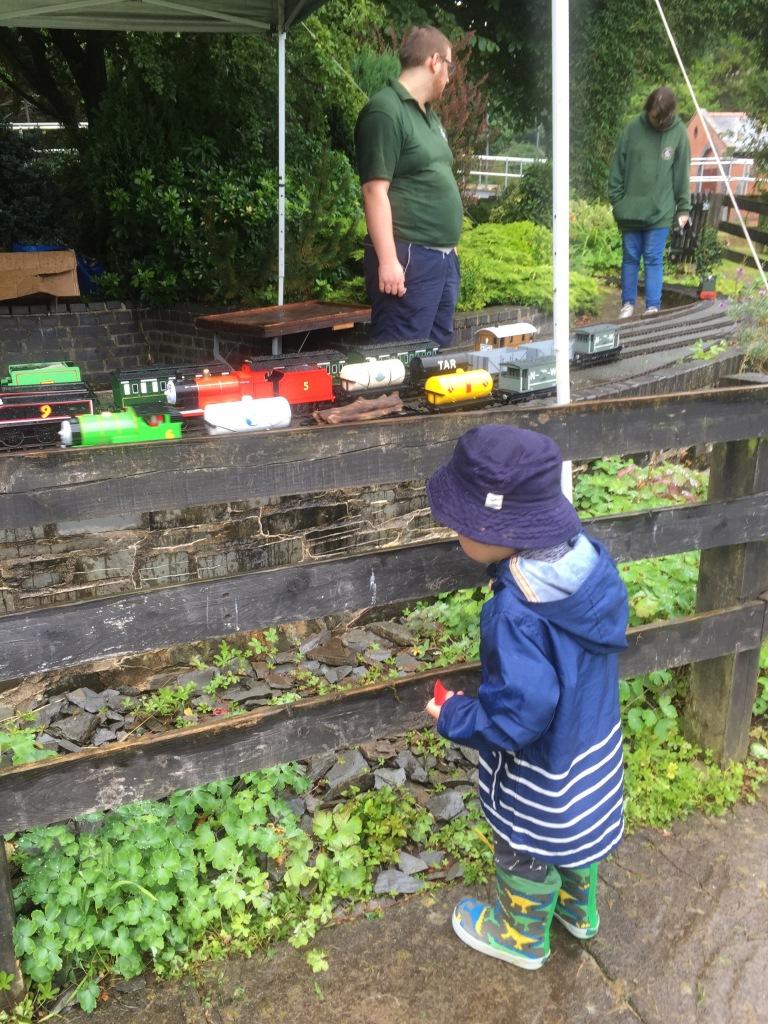 heath park miniature railway