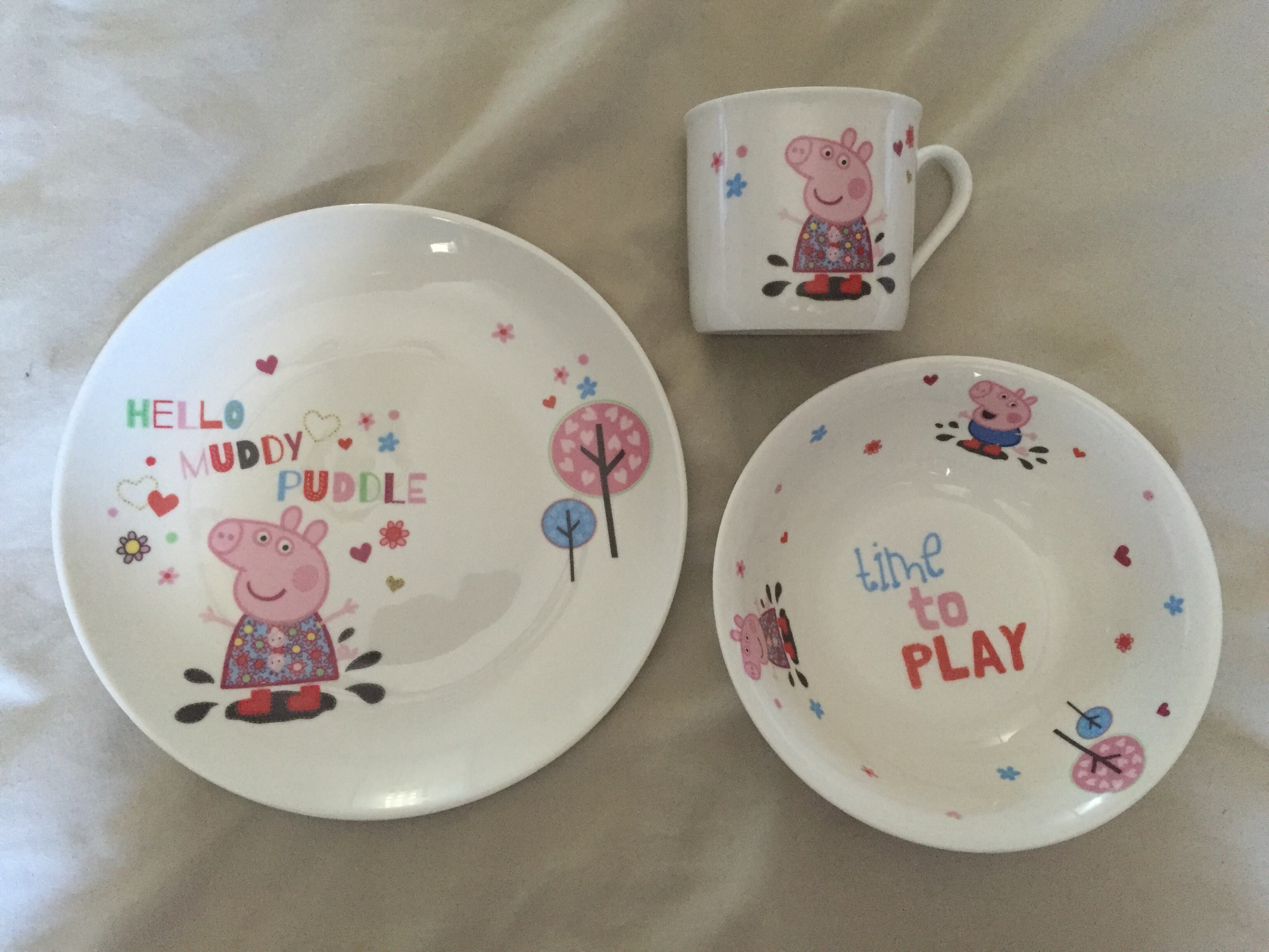 portmeirion peppa pig set & REVIEW: Portmeirion gift sets for children (Peppa Pig and The Very ...