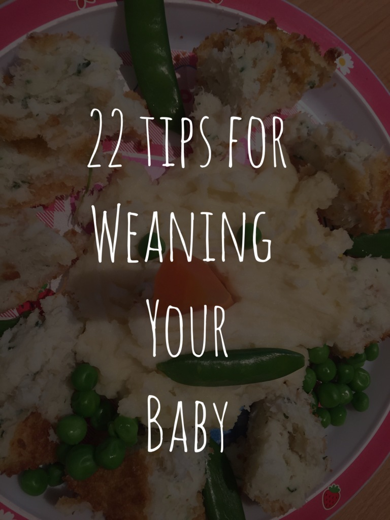 Baby weaning tips