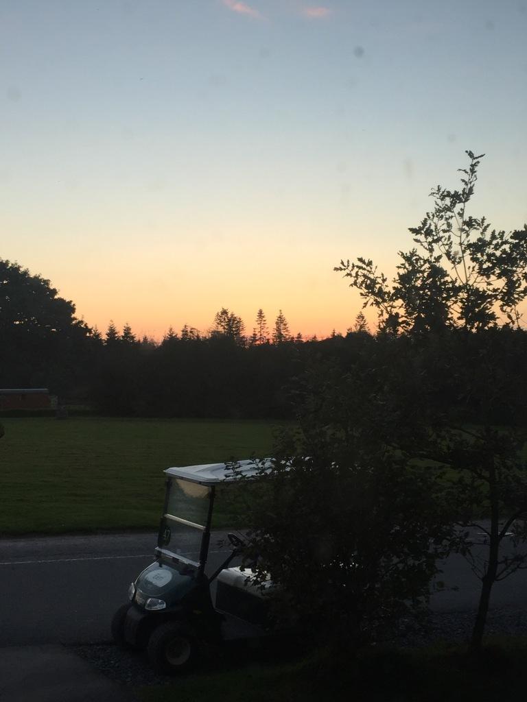 Sunset at Bluestone