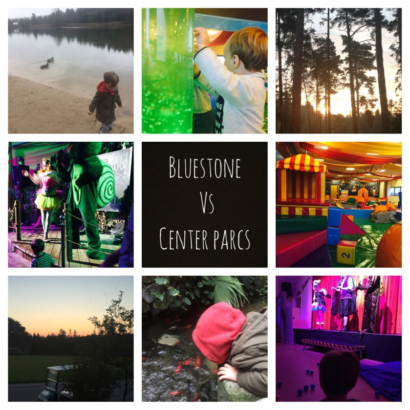 Center parcs vs Bluestone with toddler and baby