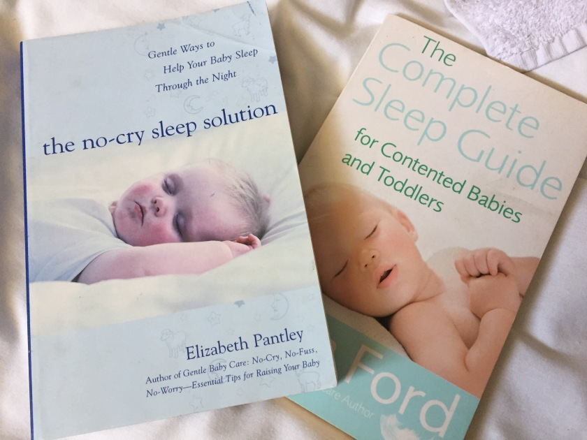Baby sleep books