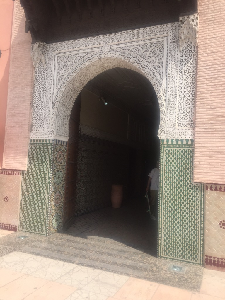 Ensemble artisanal entrance Marrakesh