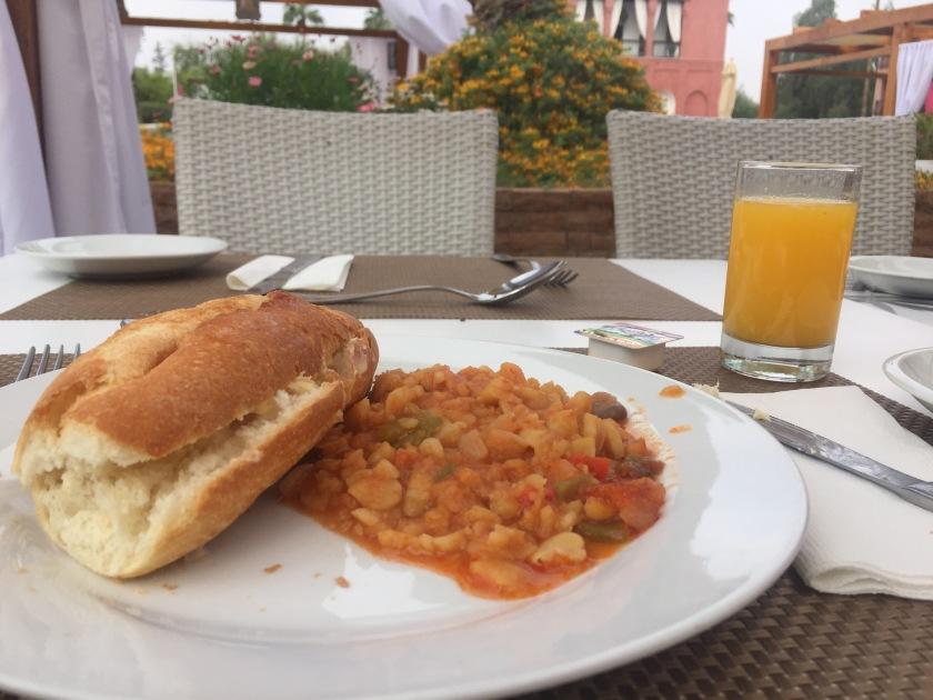 Moroccan breakfast