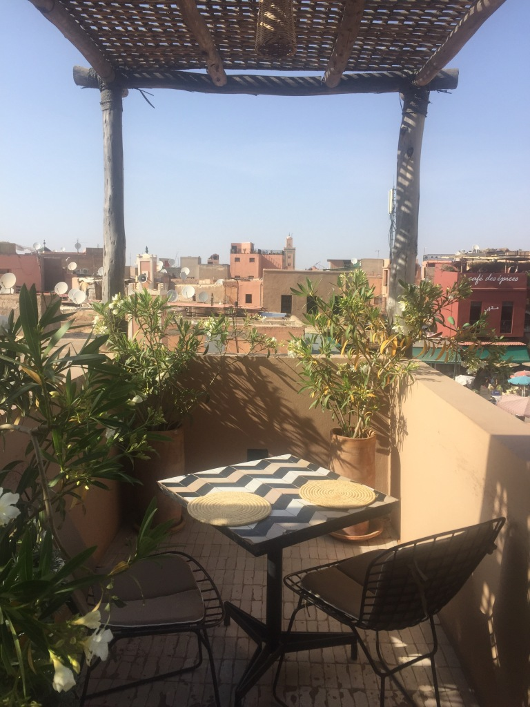 Nomad cafe Marrakesh medina