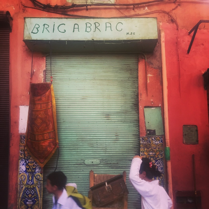 Bric a brac shop in Marrakesh souks